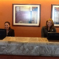 Photo taken at Teaneck Marriott at Glenpointe by Jessica O. on 4/17/2012