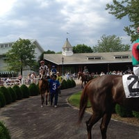 Photo taken at Arlington International Racecourse by Jack N. on 5/20/2012