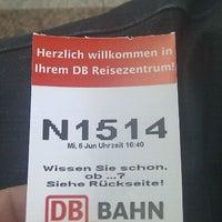 Photo taken at DB Reisezentrum by Thomas P. on 6/6/2012