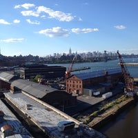 Photo taken at Brooklyn Navy Yard by Andrea D. on 6/23/2012