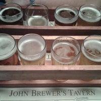 Photo taken at John Brewer's Tavern by Carol K. on 4/28/2012