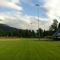 Photo taken at Rheinauen Diepoldsau by Fabian W. on 7/9/2012