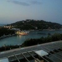 Photo taken at Hilton Bodrum Türkbükü Resort & Spa by Oskay F. on 8/7/2012