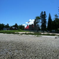 Photo taken at Old Mackinac Point Lighthouse by Jessica C. on 6/22/2012