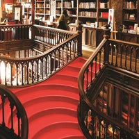 Photo taken at Livraria Lello by Hugo P. on 9/3/2012