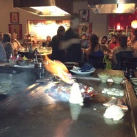 Photo taken at Musashi's Japanese Steakhouse by Valerie on 8/25/2012