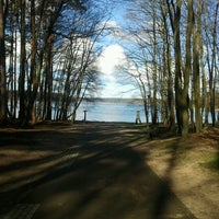 Photo taken at Großer Stechlinsee by Gabi S. on 4/8/2012