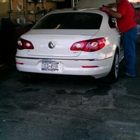 Photo taken at Westbury Personal Hand Car Wash & Detail Center by Marcia P. on 6/10/2012