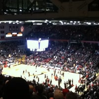 Photo taken at Fifth Third Arena | Myrl H Shoemaker Center by Seulhui L. on 2/24/2012