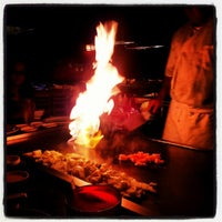 Photo taken at Tsunami Japanese Steakhouse and Sushi Bar by Bellesouth on 6/4/2012