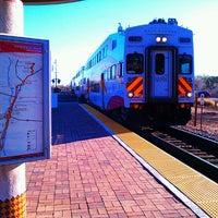 Photo taken at Rail Runner: Los Ranchos/Journal Center by Rickbischoff on 3/22/2012