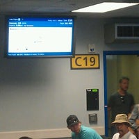 Photo taken at Gate C19 by Event D. on 6/25/2012