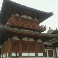Photo taken at 无垢净光舍利塔 by fryyzh on 4/29/2012