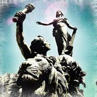 Photo taken at Place de la Nation by Didier L. on 5/26/2012