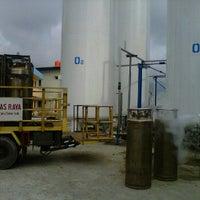 Photo taken at PT MURNI GAS RAYA (New Factory) by Kurnia F. on 6/6/2012