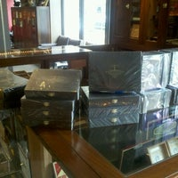 Photo taken at W. Curtis Draper Tobacconist by Christopher on 5/4/2012