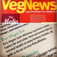 Photo taken at VegNews Magazine by Whitney L. on 5/17/2012