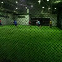Photo taken at Gembira Parade Futsal Court by Razeen H. on 4/26/2012
