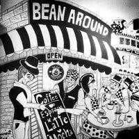 Photo taken at Bean Around Café by Sopida A. on 8/4/2012