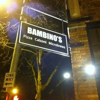 Photo taken at Bambinos Pizzeria by Jeff P. on 2/10/2012