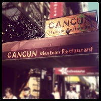 Photo taken at Cancun Mexican Restaurant by Matthew L. on 3/14/2012