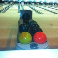 Photo taken at Rolling Lanes Bowling Alley by Matthew C. on 8/9/2012