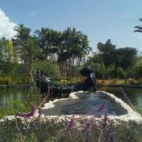 Photo taken at Miami Beach Botanical Garden by Vickens M. on 4/20/2012
