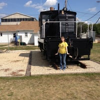 Photo taken at Rochelle Railroad Park by Bethany H. on 9/3/2012
