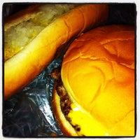 Photo taken at Dog-N-Burger Grille by Joe D. on 8/10/2012