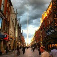 Photo taken at The Spire of Dublin by Felipe Q. on 8/30/2012