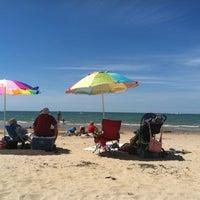 Photo taken at Silver Beach by Berj A. on 8/18/2012