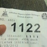 3/23/2012 tarihinde Azrean R.ziyaretçi tarafından Pejabat Agama Islam Daerah Hulu Langat'de çekilen fotoğraf