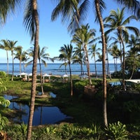 Photo taken at Four Seasons Resort Hualalai at Historic Ka`upulehu by !  **Cassidy**  ! on 8/30/2012