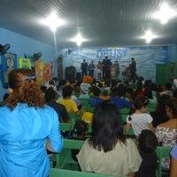 Photo taken at Igreja do Evangelho Quadrangular - TEMPLO DA VITÓRIA by Henrique C. on 5/10/2012