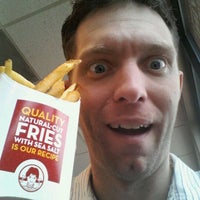 Photo taken at Wendy's by Evin G. on 3/16/2012