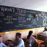 Photo taken at Waya's Tokio by Juan ignacio T. on 3/28/2012
