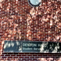Photo taken at Denton Hall - DNHY by Hinds C. on 8/23/2012