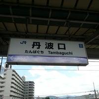 Photo taken at 丹波口駅 (Tambaguchi Sta.) by gandalf_maki on 8/4/2012