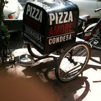 Photo taken at Pizza Amore by Sebastián B. on 4/1/2012