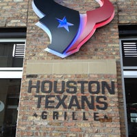 Photo taken at Houston Texans Grille by Anthony P. on 5/26/2012