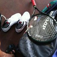 Photo taken at K99 Tennis Court by Tuan N. on 6/11/2012