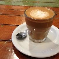Photo taken at Dollop Coffee & Tea Co. by Derek Q. on 8/27/2012