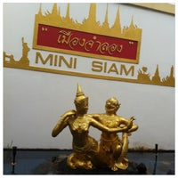 Photo taken at Mini Siam by ปัง ปังคุง on 7/1/2012