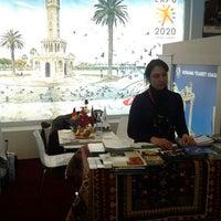 Photo taken at İtb Berlin bergama ticaret odasi standi by Melih K. on 3/10/2012