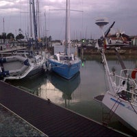 Photo taken at Port d'Ars-en-Ré by Theodore F. on 7/6/2012