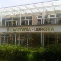 Photo taken at Cafetería - Librería by Mónica H. on 9/8/2012