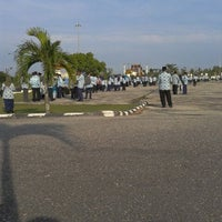 Photo taken at Lapangan Upacara Kantor Bupati by BEBEN M. on 5/21/2012