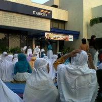 Photo taken at Bank Mandiri by Maya S. on 8/18/2012