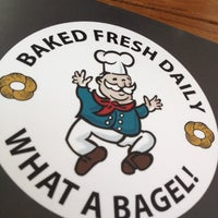 Photo taken at What A Bagel by Bob S. on 7/6/2012