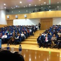 Photo taken at Universidad Rey Juan Carlos (Campus Fuenlabrada) by Jaime L. on 4/17/2012
